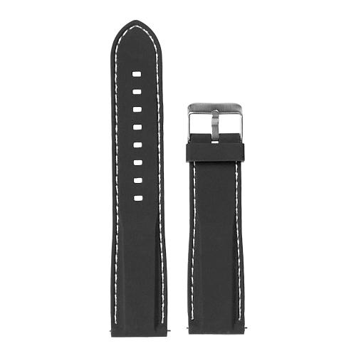 GSMIN Ремешок силиконовый Stock для Samsung Gear S3 Frontier/Classic/Galaxy Watch (46 mm)