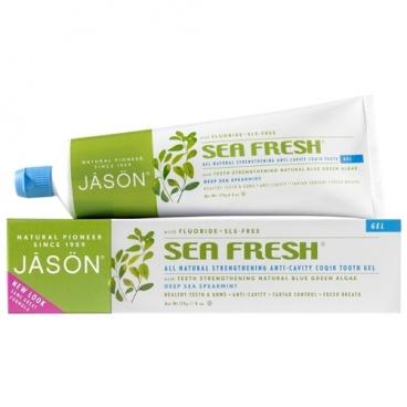 Зубная паста JASON Sea Fresh фтор Мята