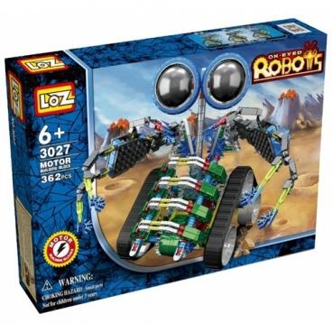 Электромеханический конструктор LOZ Ox-Eyed Robots 3027