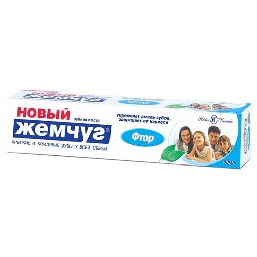 Зубная паста Новый Жемчуг Фтор