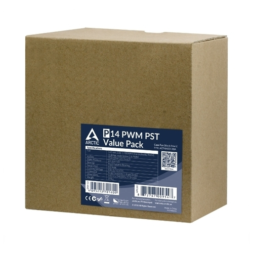 Система охлаждения для корпуса Arctic P14 PWM PST Value Pack