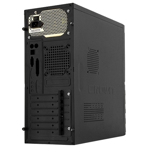 Компьютерный корпус CROWN MICRO CMC-SM162 w/o PSU Black/red