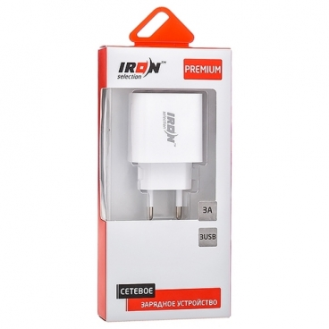 Сетевая зарядка IRON Selection PM-301a