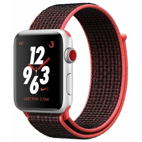 Часы Apple Watch Series 3 Cellular 42mm Aluminum Case with Nike Sport Loop