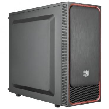 Компьютерный корпус Cooler Master MasterBox E500L (MCB-E500L-KN5N-S01) w/o PSU Black/red
