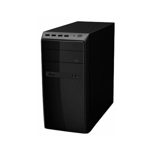 Компьютерный корпус Powerman ES726 450W Black