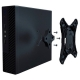 Компьютерный корпус PowerCool M101-U3S w/o PSU Black