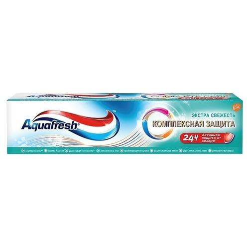 Зубная паста Aquafresh Комплексная защита Экстра Свежесть