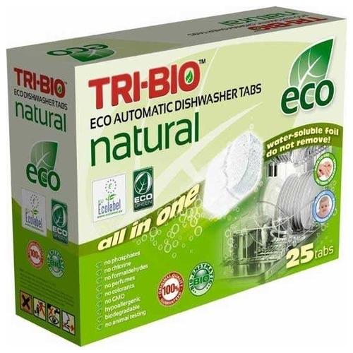 TRI-BIO таблетки для посудомоечной машины