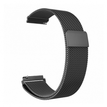 GSMIN Ремешок металлический Milanese Loop для Samsung Gear Sport/S2 Classic/Galaxy Watch (42 mm)/ Watch Active