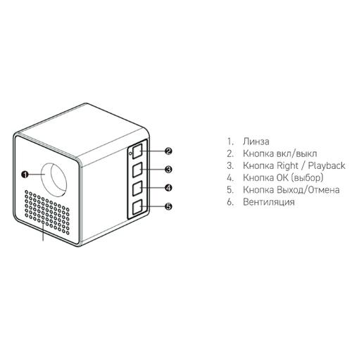 Проектор Rombica Ray Box