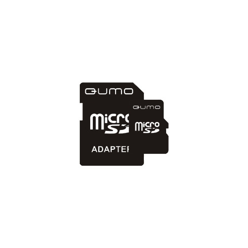 Карта памяти Qumo microSDHC class 4 + SD adapter