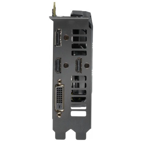 Видеокарта ASUS DUAL GeForce GTX 1660 Ti 1500MHz PCI-E 3.0 6144MB 12002MHz 192 bit DVI DisplayPort 2xHDMI HDCP OC