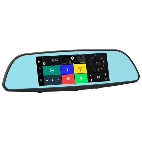 Видеорегистратор TrendVision aMirror Slim, 2 камеры, GPS