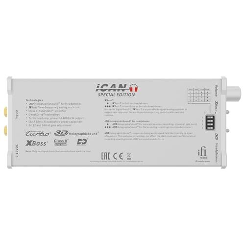 Усилитель для наушников iFi micro iCAN SE