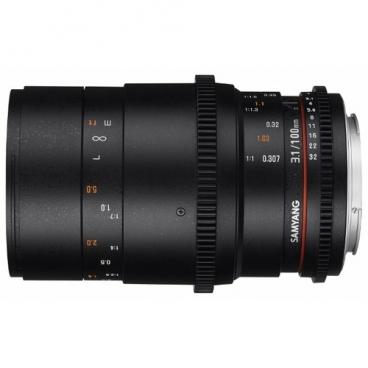 Объектив Samyang 100mm T3.1 VDSLR ED UMC Macro Nikon F