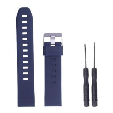 GSMIN Ремешок силиконовый Silicone для Garmin Fenix 5/5 Plus/Forerunner 935