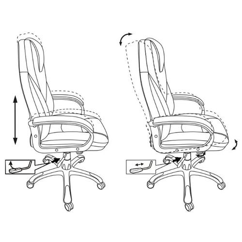 Компьютерное кресло Бюрократ T-9905 для руководителя