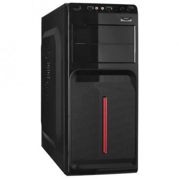 Компьютерный корпус ExeGate AB-221U 400W Black