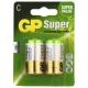 Батарейка GP Super Alkaline C
