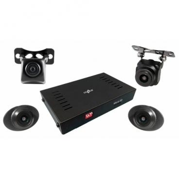Видеорегистратор GAZER CKR4400, 4 камеры