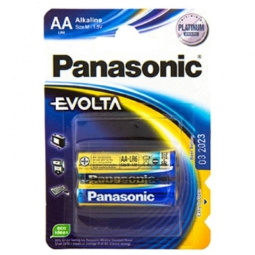 Батарейка Panasonic Evolta AA/LR6