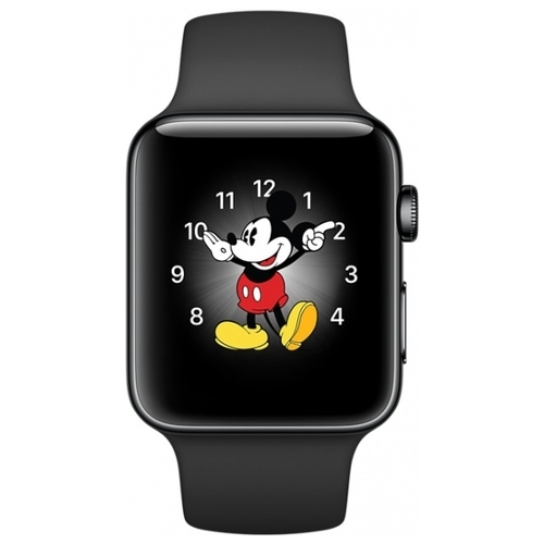 Часы Apple Watch Series 2 42mm Stainless Steel Case with Sport Band