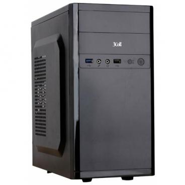 Компьютерный корпус 3Cott 3C-MATX-R833 400W Black