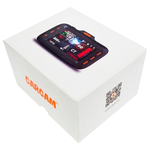 Видеорегистратор с радар-детектором CARCAM Hybrid, GPS, ГЛОНАСС