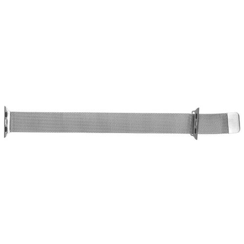 GSMIN Ремешок металлический Milanese Loop для Apple Watch 38/40mm