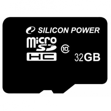 Карта памяти Silicon Power microSDHC 32GB Class 10