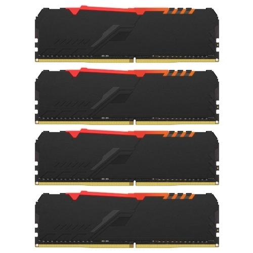 Оперативная память 16 ГБ 4 шт. HyperX HX424C15FB3AK4/64