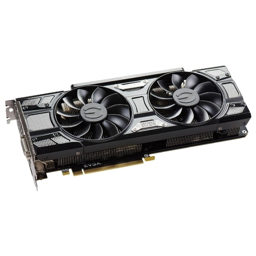 Видеокарта EVGA GeForce GTX 1070 1594Mhz PCI-E 3.0 8192Mb 8008Mhz 256 bit DVI HDMI HDCP SC Gaming Black Edition