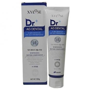 Зубная паста Hanil Xylose Dr. Ag Dental Whitening Silver Component