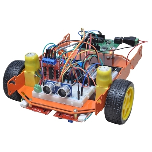 Электронный конструктор Эвольвектор Программируемые контроллеры ЭВ-230 Расширенный набор Робот+