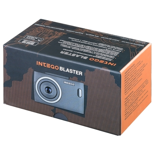 Видеорегистратор с радар-детектором Intego BLASTER (Комбо), GPS