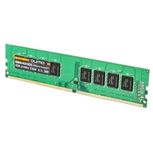 Оперативная память 16 ГБ 1 шт. Qumo DDR4 2133 DIMM 16Gb