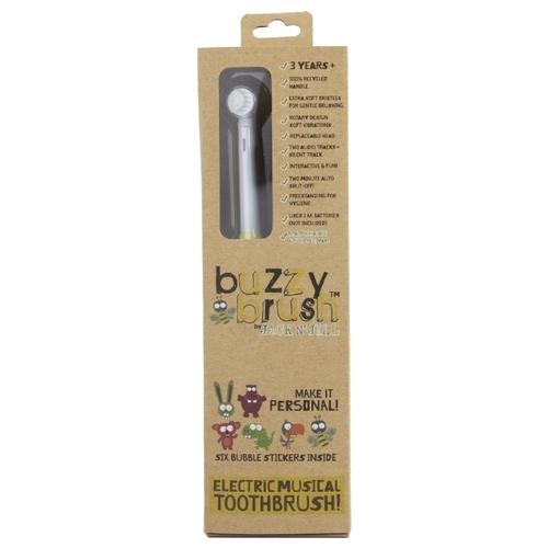 Электрическая зубная щетка JACK`N`JILL Buzzy