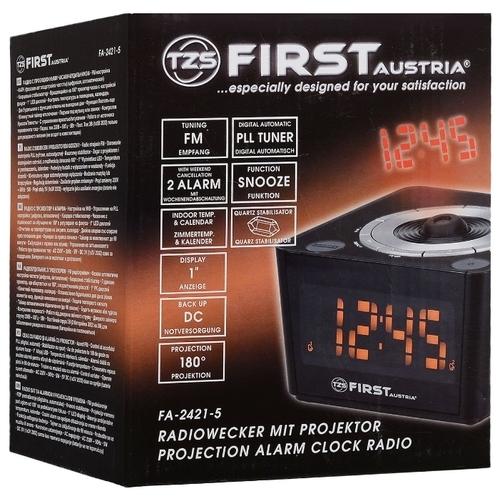 Радиобудильник FIRST AUSTRIA FA-2421-5