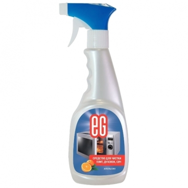 Средство для чистки плит, СВЧ, духовок Апельсин Еврогарант