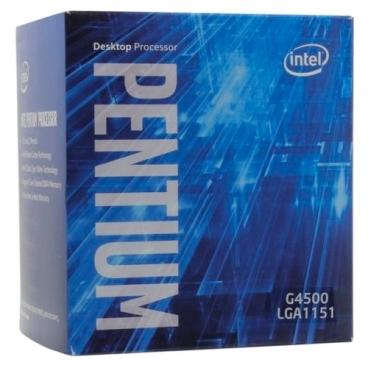 Процессор Intel Pentium G4500 Skylake (3500MHz, LGA1151, L3 3072Kb)