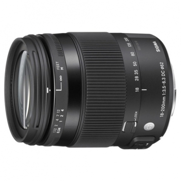 Объектив Sigma AF 18-200mm f/3.5-6.3 DC Macro OS HSM Contemporary Canon EF-S