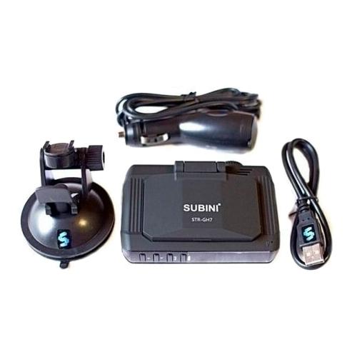 Видеорегистратор с радар-детектором Subini STR GH7