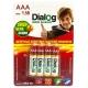 Батарейка Dialog Super Alkaline AAA