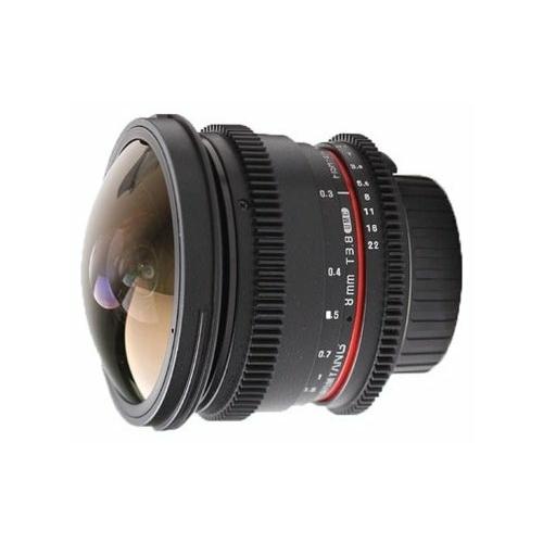 "Объектив Samyang 8mm T3.8 AS IF UMC Fish-eye CS II VDSLR Nikon F"""