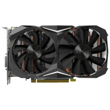 Видеокарта ZOTAC GeForce GTX 1080 1620MHz PCI-E 3.0 8192MB 10000MHz 256 bit DVI HDMI HDCP Mini