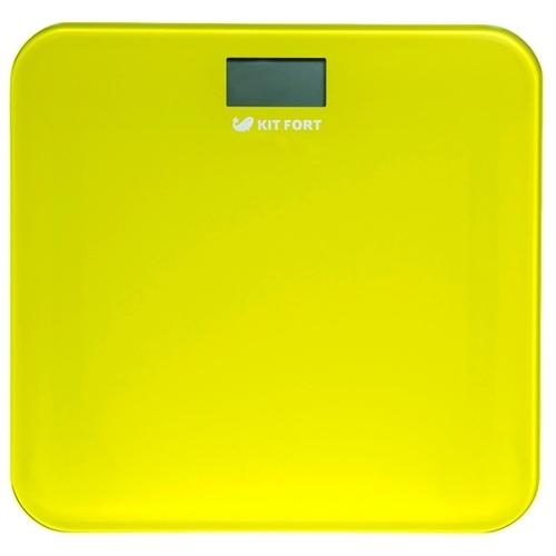 Весы Kitfort КТ-804-4 жёлтый