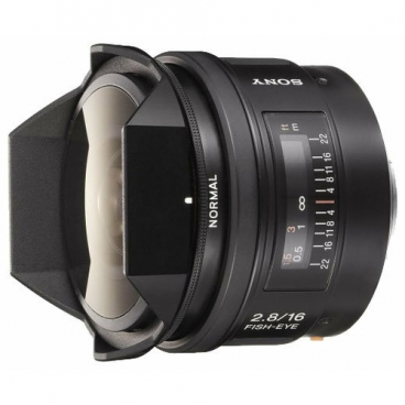 Объектив Sony 16mm f/2.8 Fisheye (SAL-16F28)""