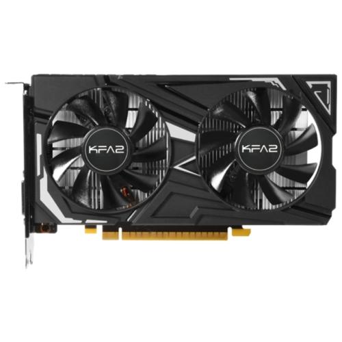 Видеокарта KFA2 GeForce GTX 1650 1485MHz PCI-E 3.0 4096MB 8000MHz 128 bit DVI HDMI DisplayPort HDCP EX 1-Click OC