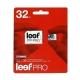 Карта памяти Leef PRO microSDHC Class 10 UHS-I U1 32GB + SD adapter